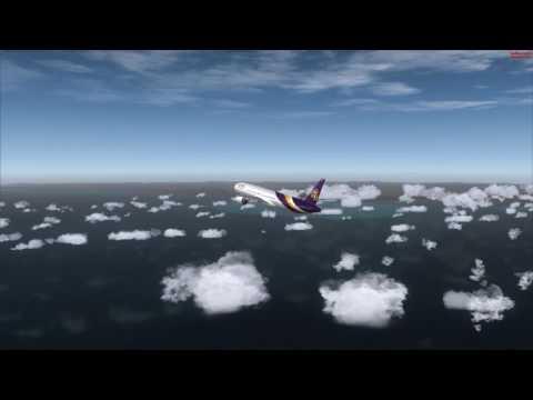 THAI AIRWAYS 777-300ER Full Flight: Bangkok to Phuket [PMDG 777] FSX