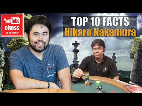 Top 10 facts about Hikaru Nakamura