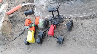 BRUDER RC tractor TROUBLE! Toys action videos for kids