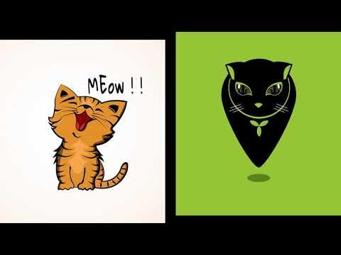 Thiết Kế Logo Con Mèo (GIẢM 50%) - Liên Hệ: 0983400168