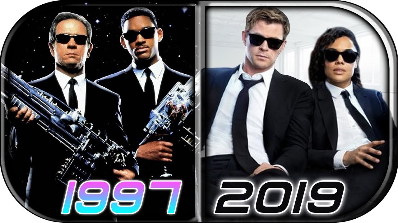Evolution Of Men In Black Movies 1997 2019 Men In Black International Full Movie Trailer Scene