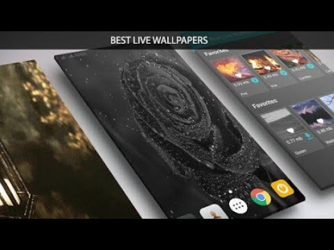 Best Live Wallpaper App For Android 2017 Touch Circle Tech4earn Com