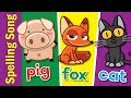 Gambar cover The Spelling Song | Learn to Spell 3 Letter Words | Kindergarten, Preschool & ESL | Fun Kids English