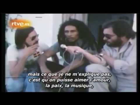 Who to interview about Bob Marley?