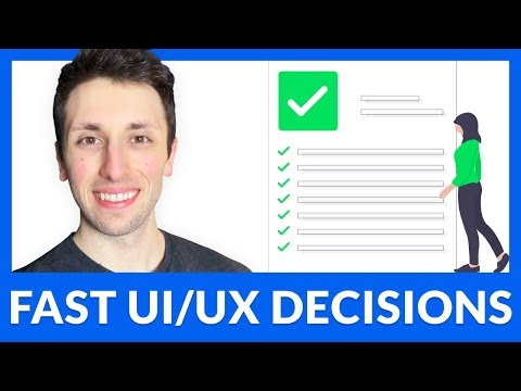 UI/UX Design Process: THE NUMBER ONE METHOD TO SOLVE PROBLEMS AND MAKE DECISIONS FAST
