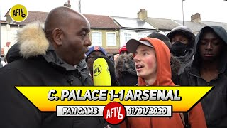 Crystal Palace 1-1 Arsenal | Aubameyang Will Be A Huge Miss For 3 Games!