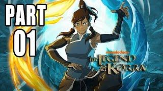 Let's Play The Legend of Korra Gameplay German Deutsch Part 1 PS4 - Unsere Bändigungskräfte sind weg