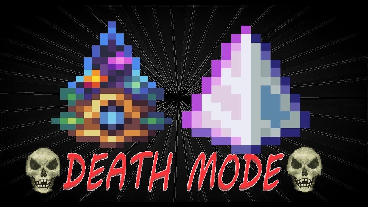 dual wield yharims crystal and last prism vs vanilla bosses ll calamity mod  death mode terraria