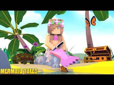 BECOMING A PRINCESS MERMAID! | Minecraft Custom Mod Adventure | Little Kelly