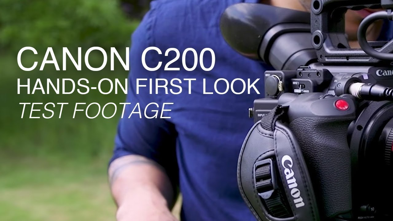 Canon EOS C200 - RAW Video at a More Affordable Price