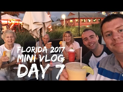 Florida 2017 - Daily Mini Vlog - Day 7 - Ellenton Premium Outlets, Fort De Soto & St Pete's Beach