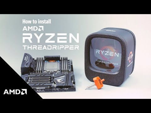 Ryzen™ Threadripper™ Processors – Installation Guidance Video