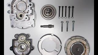 Мотор из электроколеса в редуктор | Bicycle electric gearbox DIY