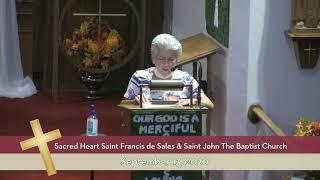Sacred Heart St. Francis de Sales / St. John the Baptist // 9/10/20