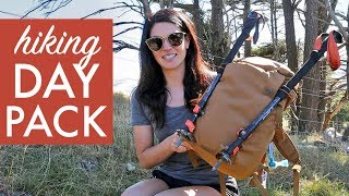 What's in my DAY PACK // Hiking in New Zealand
