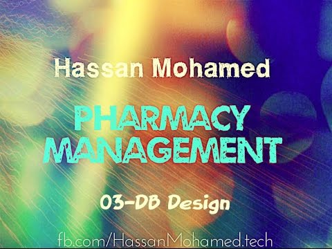 03-Pharmacy Management Project(DB Design)