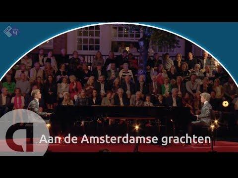 Amsterdam Medley/Aan de Amsterdamse grachten - Lucas en Arthur Jussen - Prinsengrachtconcert 2018