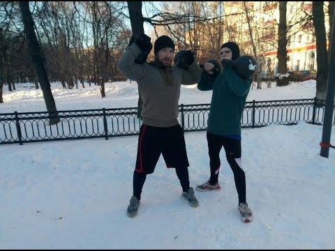 Упражнения с гирями - YouTube