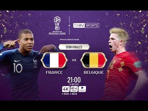 match en direct france belgique