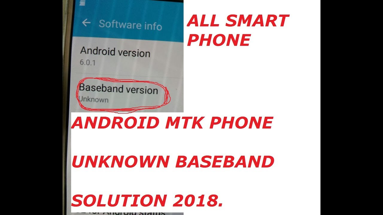 android mtk unknown baseband fix with cm2 mtk tool