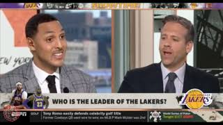 First Take | Now who is the leader of the Lakers? | Stephen A Smith