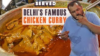 Exploring Rajinder Da Dhaba's Famous Chicken Curry | Legendary Delhi Street Food | Served #03