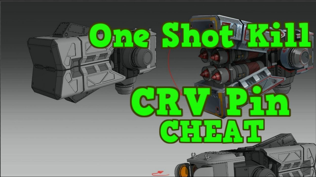 War Robots - Gepard CRV Pin Cheater