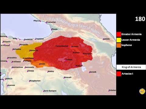 History of Armenia, ancient period, Orontid and Artaxiad dynasties