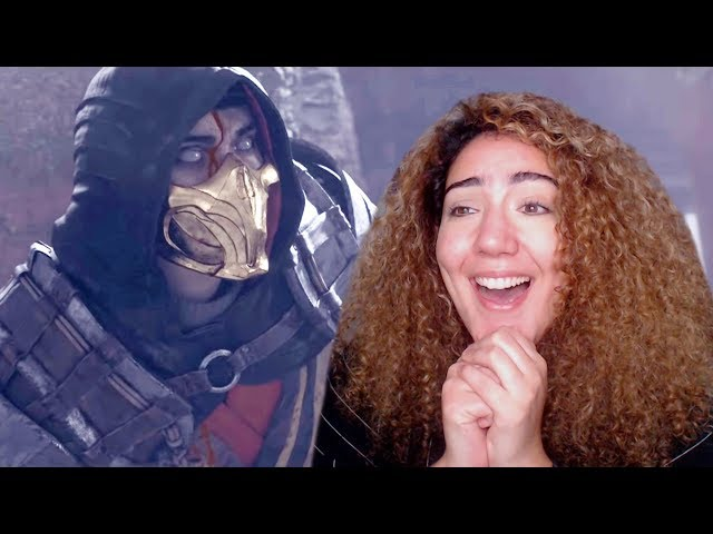 MY MK 11 REACTION! - Mortal Kombat 11 Announcement Trailer at The Game Awards