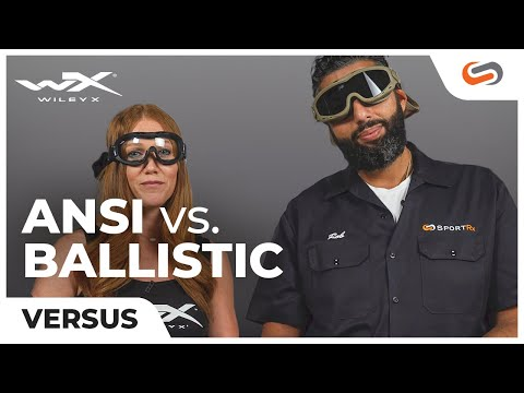 Ballistic Vs. ANSI Safety Glasses & Goggles | SportRx