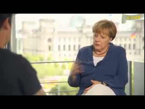 Angela Merkel Interview mit LeFloid (PARODIE)