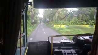 kerala bus speeding silver line jet rtc bus super speed calicut to ernakulam 4k