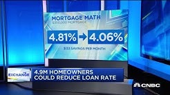 4.9 million homeowners could reduce their loan rates
