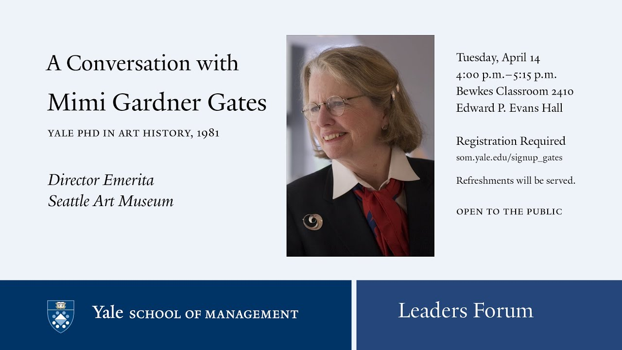 leaders forum a conversation with mimi gardner gates phd