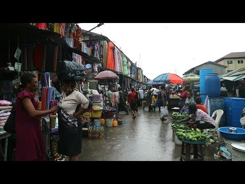 I GOT LOST IN NIGERIA! || MILE 3 MARKET SHOPPING PORT HARCOURT