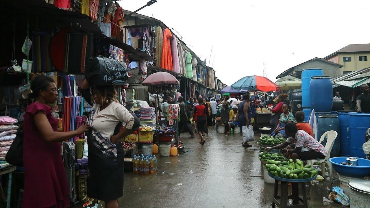 I GOT LOST IN NIGERIA! || MILE 3 MARKET SHOPPING PORT HARCOURT - YouTube
