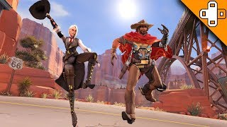Ashe and McCree LOVE Each Other! Overwatch Funny & Epic Moments 670