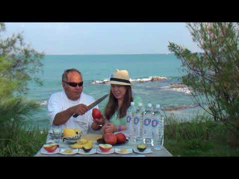 マンゴー豪快に切って食べる美味い沖縄ゆんたく放送