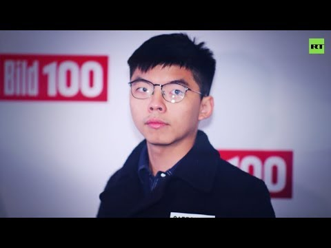 What message Hong Kong protest leader Joshua Wong has for the West?