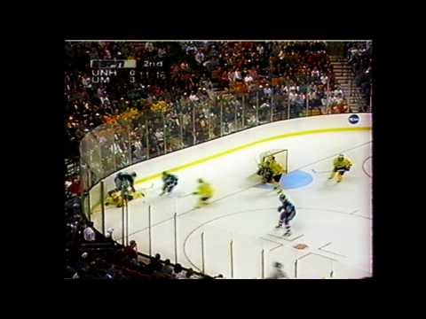 1998 NCAA Frozen Four Semifinal - Michigan vs New Hampshire