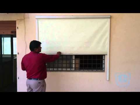 Roller Blinds with Side Guide Rail