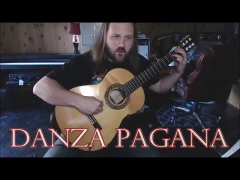 Danza Pagana by Reginald Smith Brindle for Classical Guitar