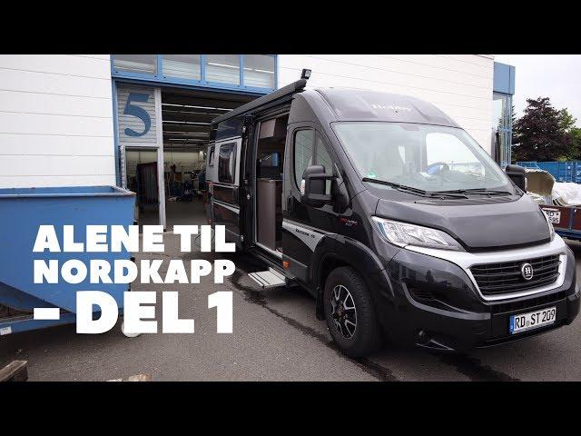 Alene til Nordkapp - del 1 - Til Tyskland efter autocamper