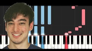 Joji - Demons (Piano Tutorial)