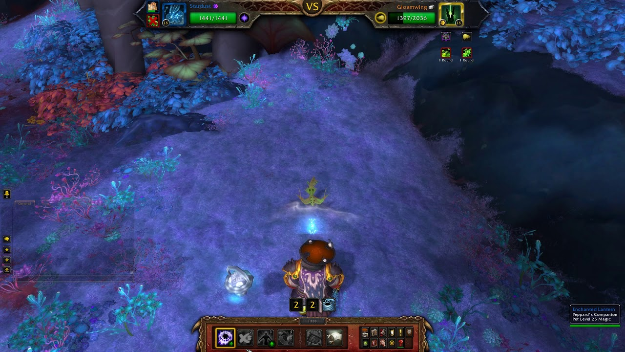 How To Beat Gloamwing With Magic Pets World Of Warcraft Youtube