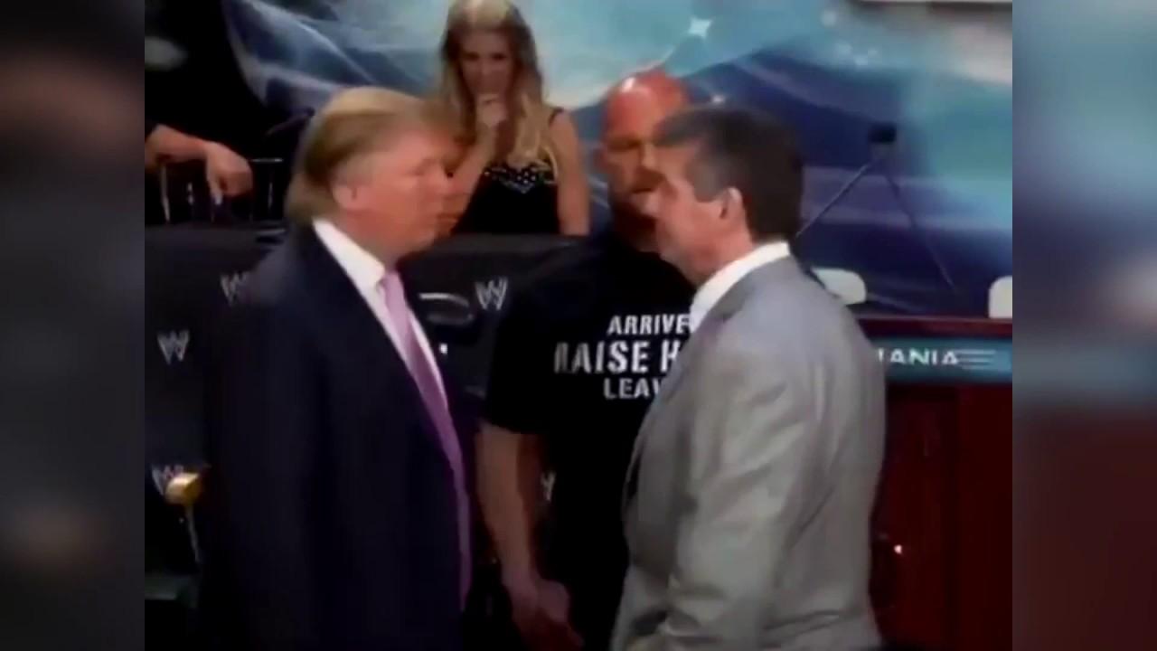 Дональд Трамп, дал пощечину, своему обидчику