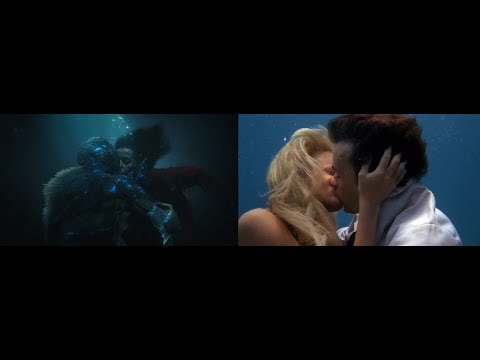 The Shape of Water (2017) vs Splash (1984)