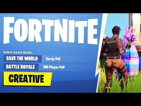 Fortnite Creative Mode How To *NEW*