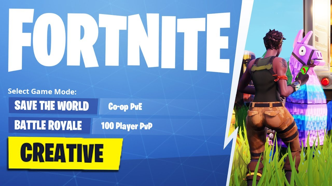 Fortnite Creative Mode How To New Youtube