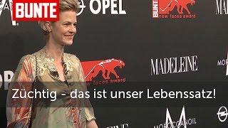 Minzi zu Hohenlohe: Züchtig! - BUNTE TV